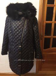 Куртка чёрная зима