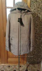 Куртка женская бежевая осень