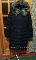 Курточка синяя с чернобуркой