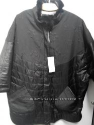 Стильные куртки еврозима на пышных красавиц до 68р-ра