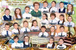 Продам макеты школьных фотокниг и винлистов в PSD формате