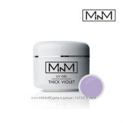 УФ-гель моделюючий фіолетовий щільний M-in-M Gel Thick Violet, 5 г