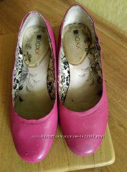 Кожаные туфли р. 37