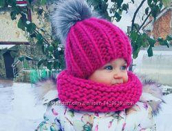 Стильная малышка осень-зима  комплекты