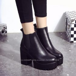 Женские демисезонные ботинки осень или еврозима