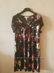 Ночная рубашка Oscar de la Renta в цветочек мини миди новая из Америки