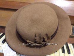 шляпа фетровая 100 кроличий пух