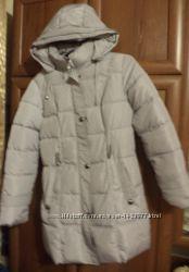 пальто, пуховик куртка удлинённая