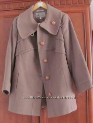 Пальто жіноче утеплене блідо-рожевого кольору