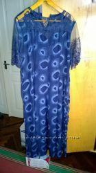 Красивое новое платье, длинное 50-54 р.
