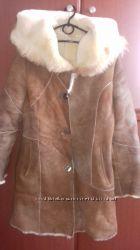 Натуральная дубленка на девушкуженщину, пр-во Турция,  42-44 размер Скидка