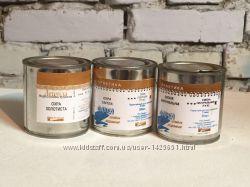 Масляная краска Охра и Сиена натуральная
