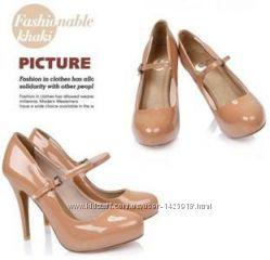 новые туфли лак