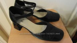 Туфли кожаные черные размер 39, 5