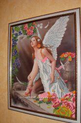 Картина бисером Дикий Ангел