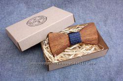 Деревянные галстук- бабочки SIMPLE