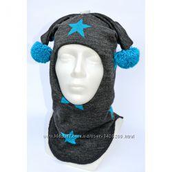 Яркий зимний шлем для мальчика от ТМ Be easy