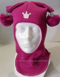 Зимние шлемы для девочек тм Be easy, 100 шерсть. Наличие