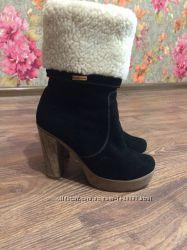 Ботинки зима натуральная ЗАМША