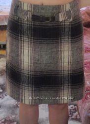 Шерстяная юбка C&A, Швейцария, размер 44-46