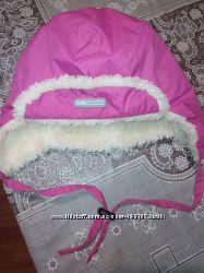 Яркая, тёплая, не продуваемая шапка Lenne р 52