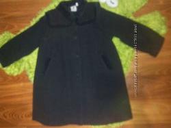 Красивенное  пальто PAMPOLINA р 110, 80 шерсти, состояние нового