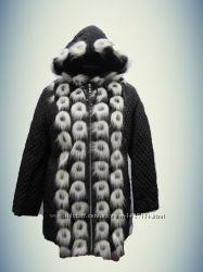 Красивая зимняя куртка. 19. Новая. Размер 50-60 опт-розница.