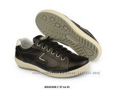 Кожаные удобные женские спортивные туфли Италия Grisport