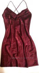 Новая сексуальная темно-бордовая ночнушка от yessika
