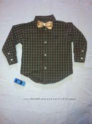 Рубашка фирменная на 2 года