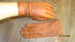 Перчатки кожаные fownes