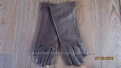 Перчатки из натуральной лайковой кожи