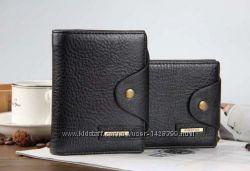 Мужской кожаный бумажник