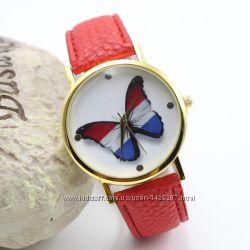 Женские наручные часы с бабочкой - 3 цвета