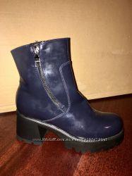 Отличные ботинки Натур материалы новые размер 40
