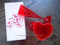 Набор бокалов Сердце