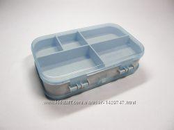 Контейнер, органайзер, коробочка 2х-сторонн. Aquatec-15х10х4. 2см.