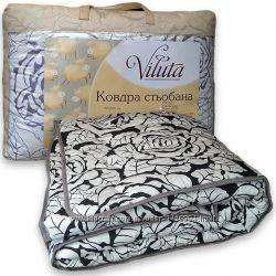 Одеяло из овчины стеганое Вилюта. Ковдра. Разные цвета и размеры