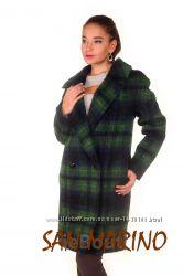 Двубортное итальянское пальто Laramie