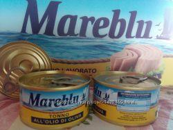 Тунець Mareblu, Tonno Mareblu 80грам