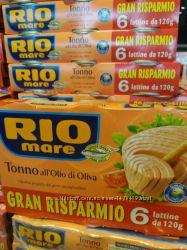 Тунець Rio Mare в оливковій олії 0. 120кг з Італії