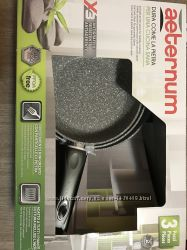 Сковордкі Aeternum  від індустрії Bialetti 3 штукі 20, 24, 28см італіїські