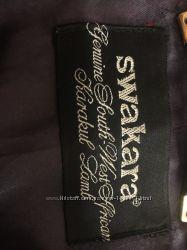 Пальто винтажное из  каракульчи SWAKARA, оригинал, Black lake