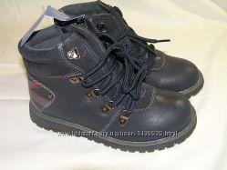 Kimbo демисезонные ботинки для мальчика   31-36 р.