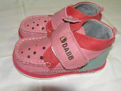 Кожаные демисезонные ботиночки  Ladabb  для  девочек  в наличии с 19-23 р