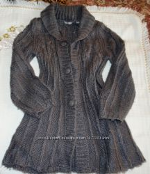 Кардиган, кофта, свитер, жилетка, пальто 146-152