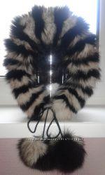Шапка меховая зимняя для девочки мех натуральный.
