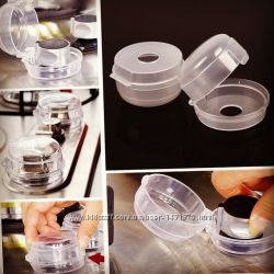 Защита на ручки плиты. Защита от детей на газовую плиту
