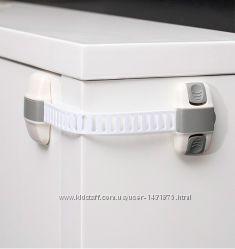 Универсальный регулируемый мягкий замок- блокиратор для шкафчиков и т. д.