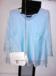 Шифоновая романтичная блуза большого размера